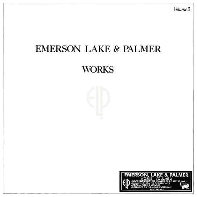 Vinilo Emerson Lake & Palmer – Works Volume 2
