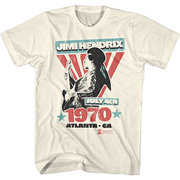 Polera Unisex Jimi Hendrix Atlanta 1970