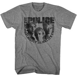 Polera Unisex The Police JFK Stadium 83