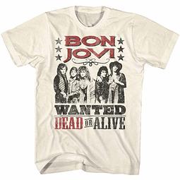 Polera Unisex Bon Jovi Dead Or Alive
