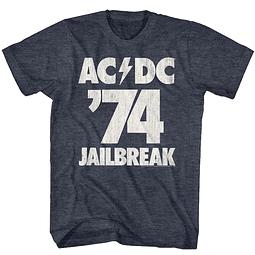 Polera Unisex AC/DC Jailbreak ´74