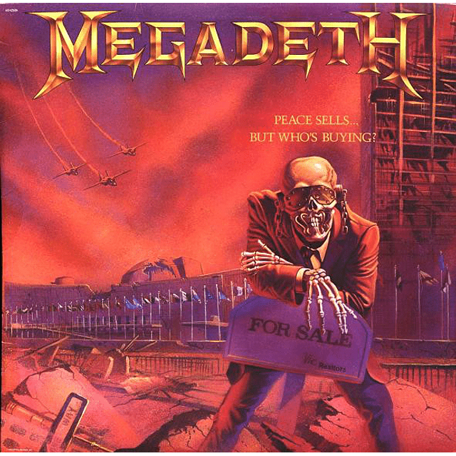 Vinilo Megadeth – Peace Sells...But Who's Buying?