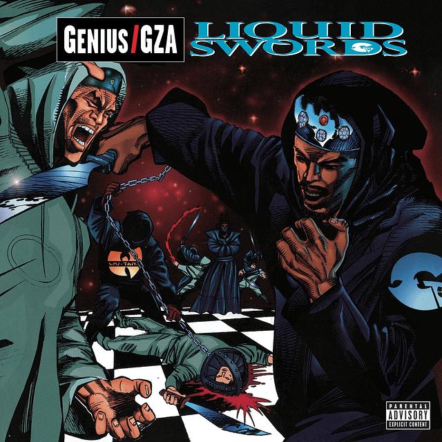 "Vinilo ""2LP"" GZA – Liquid Swords"