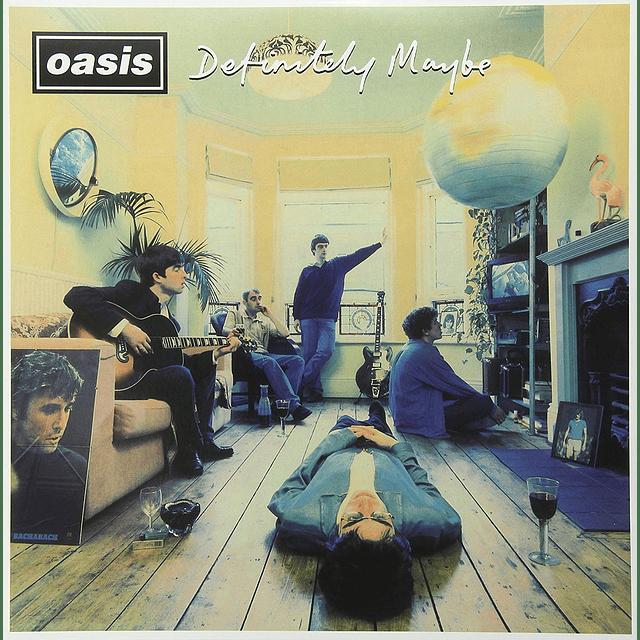 "Vinilo ""2LP"" Oasis – Definitely Maybe"
