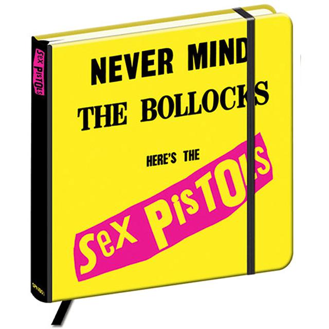 Libreta Sex Pistols Never Mind The Bollocks