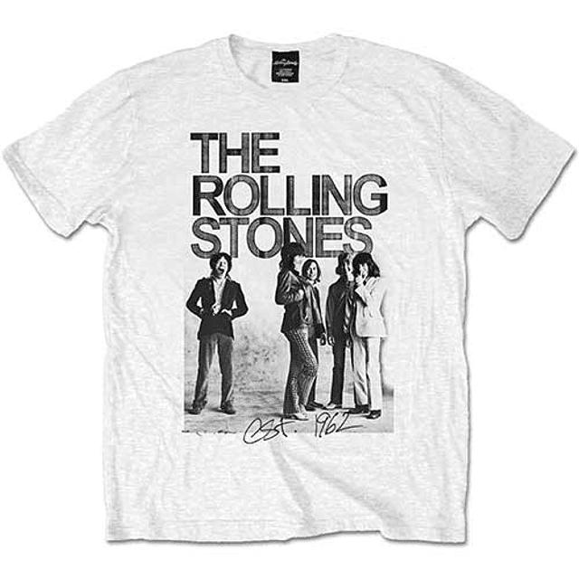 Polera Oficial Unisex Rolling Stones Est 1962