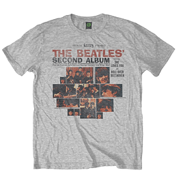 Polera Oficial Unisex The Beatles Segundo Album