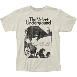 Polera Unisex Velvet Underground White Light/White Heat