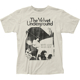 Polera Unisex Velvet Underground White Light/White Heat