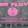 Polera Oficial Mujer Pink Floyd Multi Logo DSOTM
