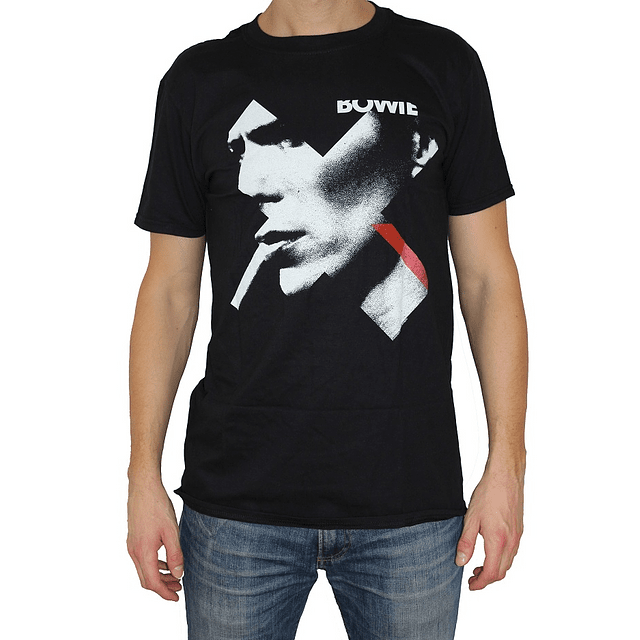 Polera Oficial Unisex David Bowie X Smoke