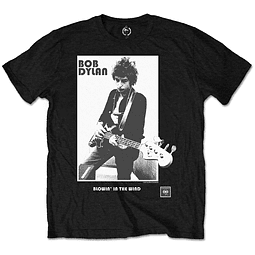 Polera Oficial Unisex Bob Dylan Blowing In The Wind