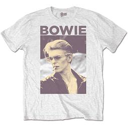Polera Oficial Unisex David Bowie Smoking