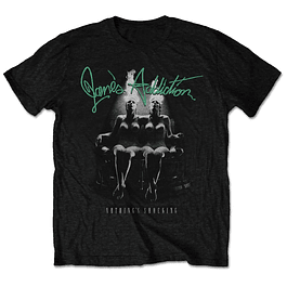 Polera Oficial Unisex Janes Addiction Nothing´s Shocking