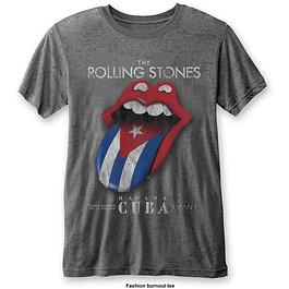 Polera Oficial Unisex Rolling Stones Havana Cuba