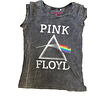 Polera Oficial Mujer Pink Floyd Logo DOTM