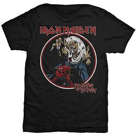 Polera Unisex Iron Maiden Number of the Beast