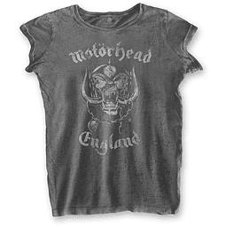 Polera Oficial Mujer Motörhead England