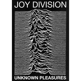 Poster Joy Division Unknown Pleasures