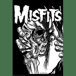 Poster Misfits Pushead