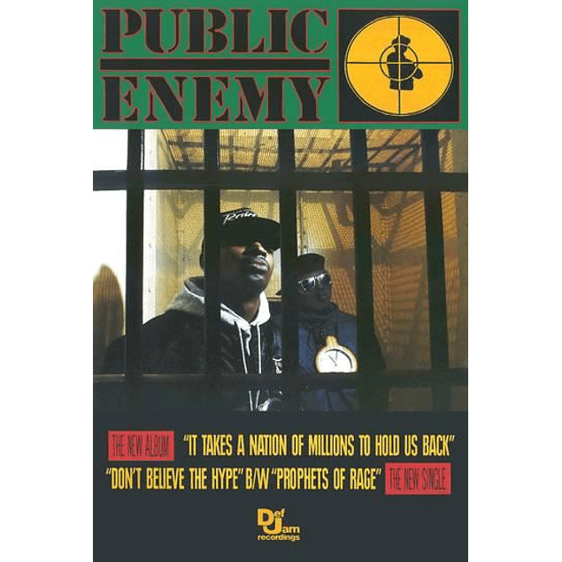 Poster Public Enemy It Takes A Nation Of Millions