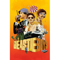 Afiche Beastie Boys Sabotage Movie