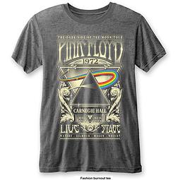 Polera Oficial Unisex Pink Floyd Carnegie Hall