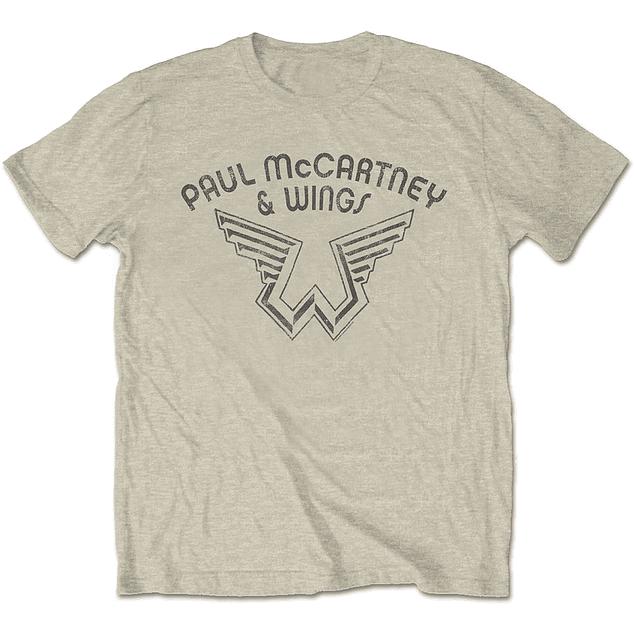 Polera Unisex Paul McCartney & Wings
