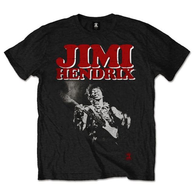 Polera Oficial Unisex Jimi Hendrix Block