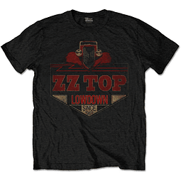 Polera Oficial Unisex ZZ Top Lowdown