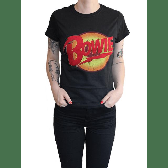 Polera Oficial Mujer David Bowie Diamond Dogs
