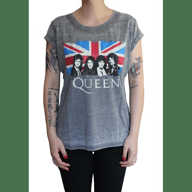 Polera Oficial Mujer Queen Reino Unido
