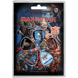Uñetas Iron Maiden Later Albums