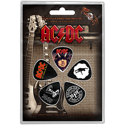 Uñetas AC/DC: Highway / For Those /Let There