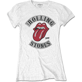Polera Oficial Mujer Rolling Stones Tour 78