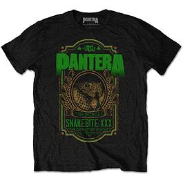 Polera Oficial Unisex Pantera Snakebite XXX