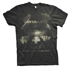 Polera Unisex Metallica Master Of Puppets