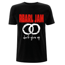 Polera Unisex Pearl Jam Don´t Give Up