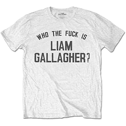 Polera Oficial Unisex Liam Gallagher Who The Fuck...