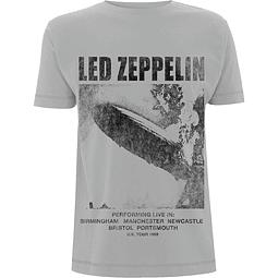 Polera Unisex Led Zeppelin UK Tour ´69