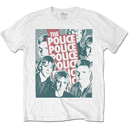 Polera Oficial Unisex The Police Faces