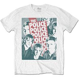 Polera Oficial Unisex The Police Faces