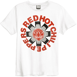 Polera Unisex Red Hot Chili Peppers Azteca