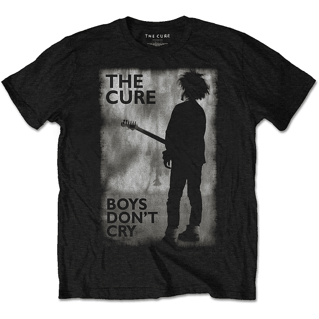 Polera Oficial Unisex The Cure Boys Don´t Cry