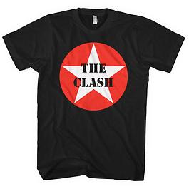 Polera Unisex The Clash Star