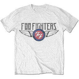 Polera Unisex Foo Fighter Flash Wings