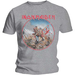 Polera Unisex Iron Maiden Trooper