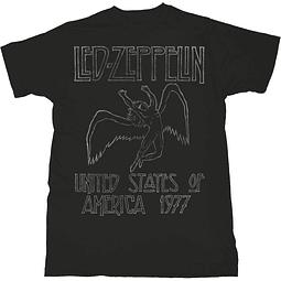 Polera Unisex Led Zeppelin USA ´77