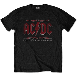Polera Oficial Unisex ACDC Hell Ain´t A Bad Place