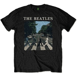 Polera Oficial Unisex The Beatles Abbey Raod